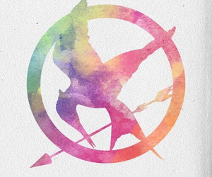 mockingjay, hunger games, and the hunger games image