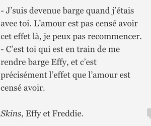 dialogue, Effy, and Freddie image