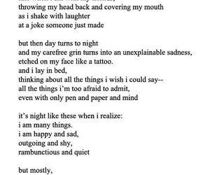 empty, poetry, and sad image