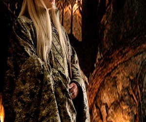 king, the hobbit, and thranduil image