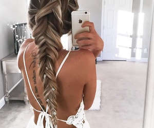 beauty, dutch, and fishtail image