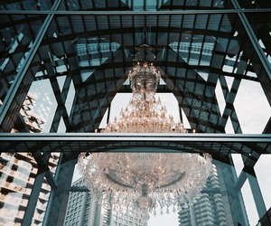 chandelier, luxury, and amazing image