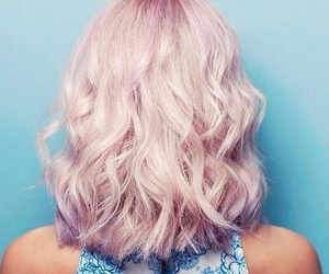hair, pink hair, and goals image