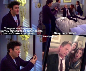 bad, himym, and barney image