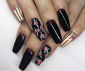 nails, fashion, and stylé image