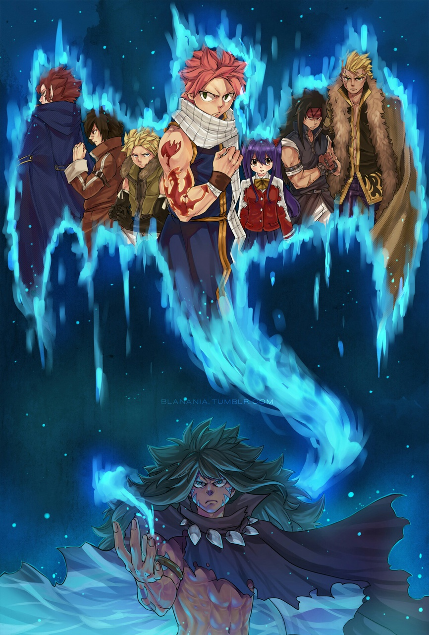 Acnologia The 7 Dragon Slayers On We Heart It