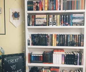 bookcase, books, and bookshelf image