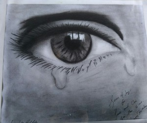 blackandwhite, charcoal, and drawings image
