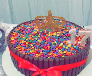 17, cake, and coroa image