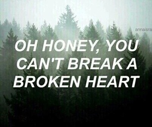 aesthetic, tumblr, and broken heart image
