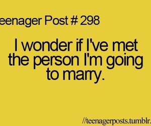 teenager post, marry, and true image