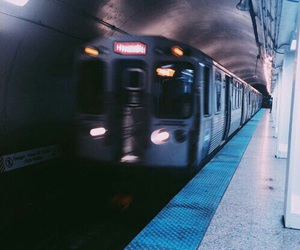 train, grunge, and tumblr image