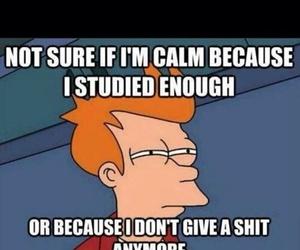 exams, funny, and joke image