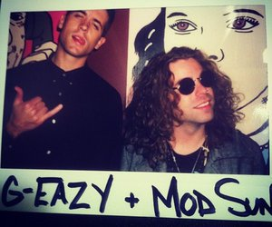 g eazy, mod sun, and these things happen image