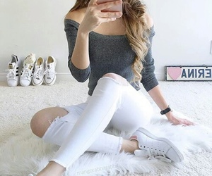 girl, girly, and outfit image