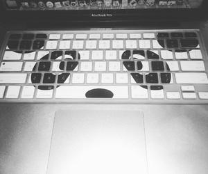 laptop, macbook pro, and panda image