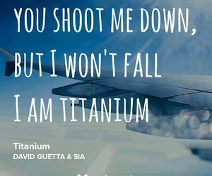 titanium, david guetta, and i am titanium image