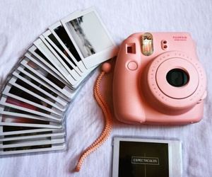 polaroid and vintage image