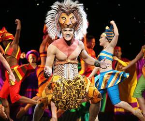 musical, theatre, and the lion king image