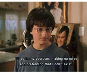 alone, harrypotter, and Valentine's Day image