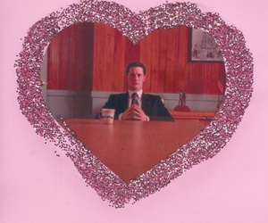 pink and Twin Peaks image