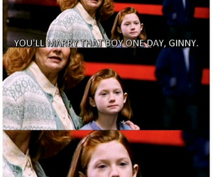 harry potter, ginny weasley, and ginny image