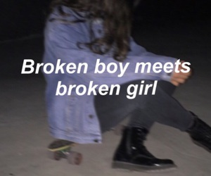 boy, girl, and grunge image