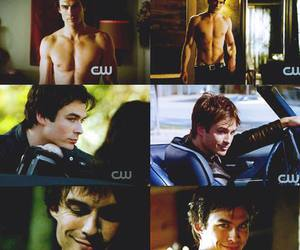 ian and damon salvatore image