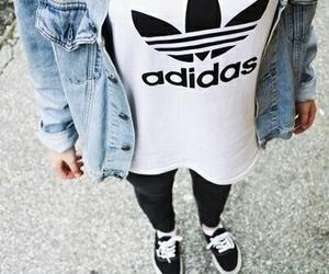 adidas, fashion, and vans image