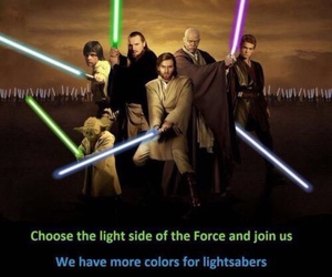 star wars and lightsabers image
