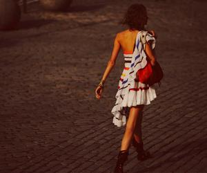 colorful, dress, and fashion image