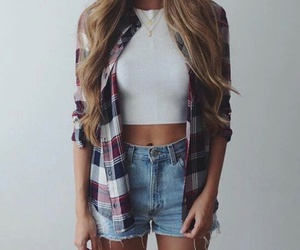 girl, ootd, and hotpants image