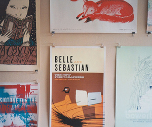 indie, belle and sebastian, and music image