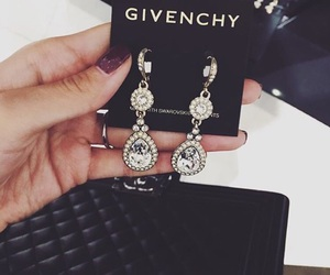 Givenchy, earrings, and girly image
