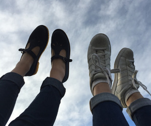 boots, hipster, and girls image