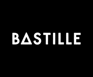 bands, bastille, and black and white image