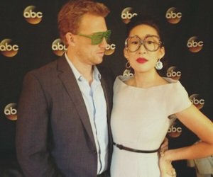 sandra oh, kevin mckidd, and grey's anatomy image