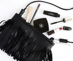 fashion, makeup, and bag image