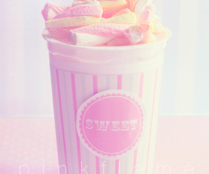 sweet, pink, and candy image