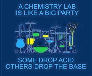 laboratory, music, and party image