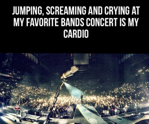 cardio, coldplay, and concert image