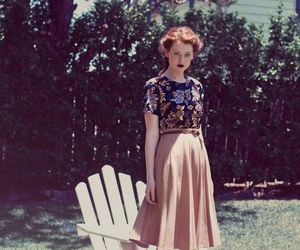vintage, fashion, and girl image