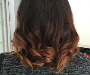 curls, hair, and short image