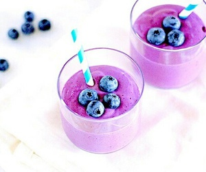 blueberry, food, and drink image