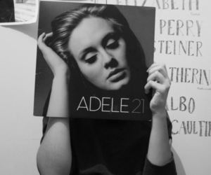 Adele, 21, and black and white image