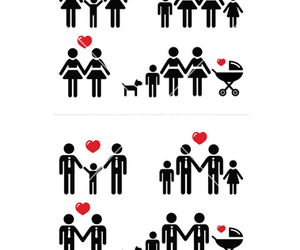 bisexual, equality, and family image