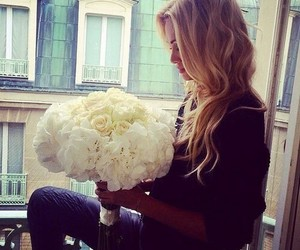 beauty, blond, and white image