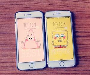 patrick, spongebob, and wallpaper image