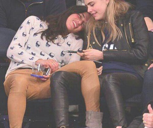 cara delevingne, michelle rodriguez, and love image