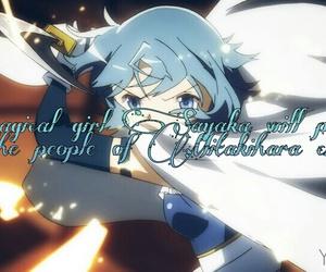 anime, manga, and blue image